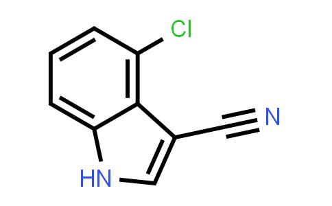 4-CHLORO-1H-INDOLE-3-CARBONITRILE