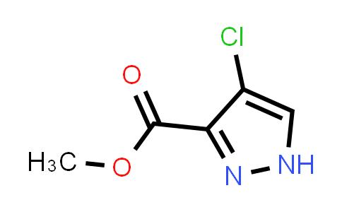 4-chloro-1H-pyrazole-3-carboxylic acid methyl ester