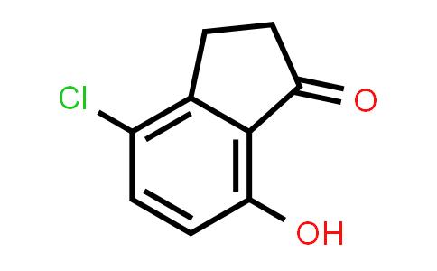 4-CHLORO-2,3-DIHYDRO-7-HYDROXYINDEN-1-ONE