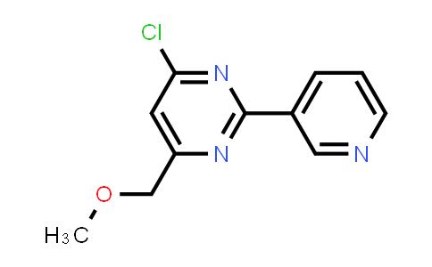 4-CHLORO-6-(METHOXYMETHYL)-2-(3-PYRIDYL)PYRIMIDINE