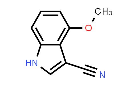 4-METHOXY-1H-INDOLE-3-CARBONITRILE