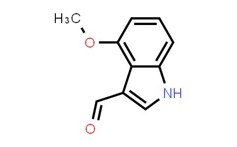 4-Methoxyindole-3-carboxaldehyde