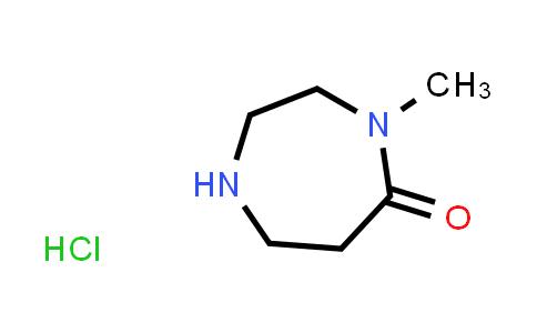 4-Methyl-1,4-diazepan-5-one hydrochloride