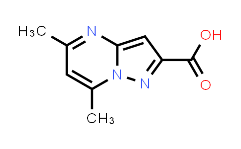 5,7-DIMETHYLPYRAZOLO[1,5-A]PYRIMIDINE-2-CARBOXYLIC ACID