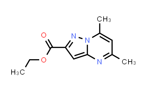 5,7-Dimethyl-pyrazolo[1,5-a]pyrimidine-2-carboxylic acid ethyl ester