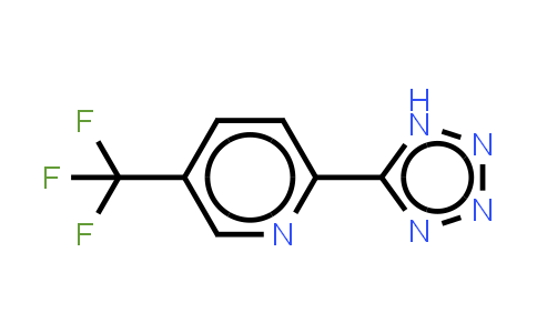 5-[5-(trifluoromethyl)pyridin-2-yl]-1H-tetrazole;2-(2H-Tetrazol-5-yl)-5-(trifluoromethyl)pyridine