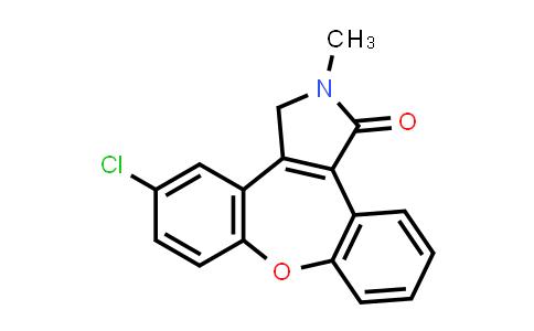 5-氯-2-甲基-2,3-二氢二苯并[2,3:6,7]氧杂卓并[4,5-C]吡咯-(2H)-酮