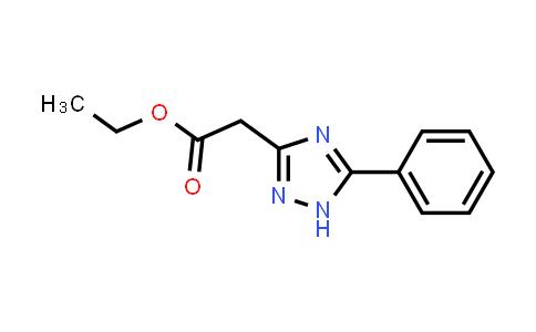 5-phenyl-1H-1,2,4-Triazole-3-acetic acid ethyl ester