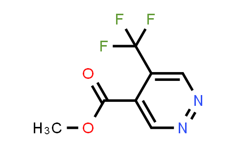 5-trifluoromethyl-pyridazine-4-carboxylic acid methyl ester