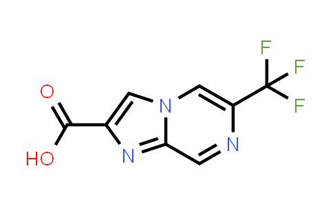 6-(trifluoromethyl)imidazo[1,2-a]pyrazine-2-carboxylic acid