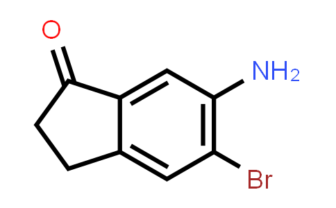 6-Amino-5-bromo-2,3-dihydro-1H-inden-1-one