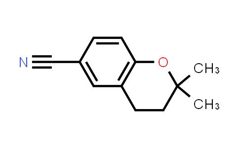 6-cyano-3,4-dihydro-2,2-dimethyl-2H-1-benzopyran