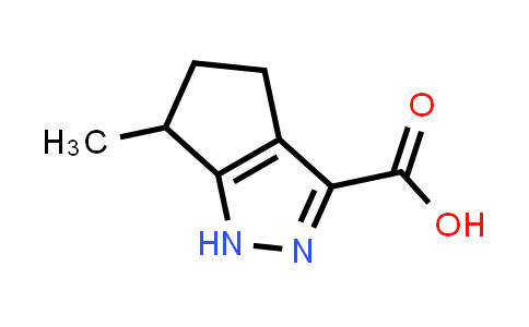 6-methyl-1,4,5,6-tetrahydrocyclopenta[c]pyrazole-3-carboxylic acid