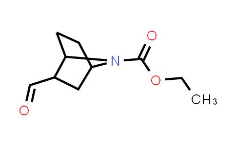 7-Azabicyclo[2.2.1]heptane-7-carboxylic acid, 2-formyl-, ethyl ester