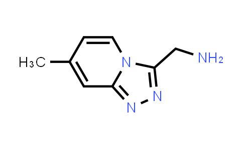 7-methyl-1,2,4-Triazolo[4,3-a]pyridine-3-methanamine