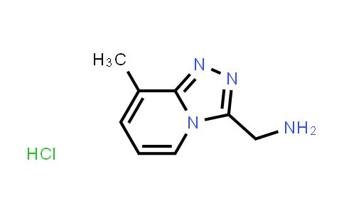 8-methyl-1,2,4-Triazolo[4,3-a]pyridine-3-methanamine hydrochloride