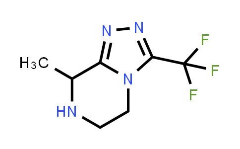 8-methyl-3-(trifluoromethyl)-5,6,7,8-tetrahydro-[1,2,4]triazolo[4,3-a]pyrazine