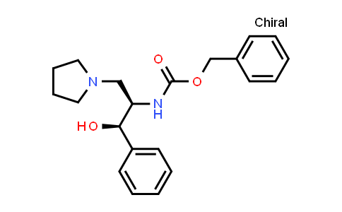 Benzyl [(1R,2R)-1-Hydroxy-1-phenyl-3-(1-pyrrolidinyl)-2-propanyl]carbamate