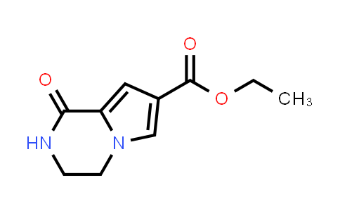 ethyl 1-oxo-1H,2H,3H,4H-pyrrolo[1,2-a]pyrazine-7-carboxylate