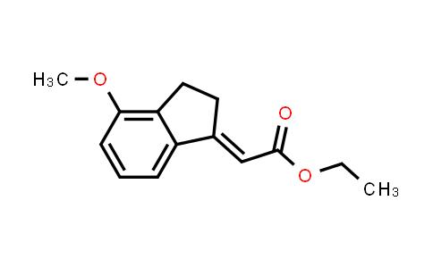 ethyl 2-(4-methoxy-2,3-dihydro-1H-inden-1-ylidene)acetate