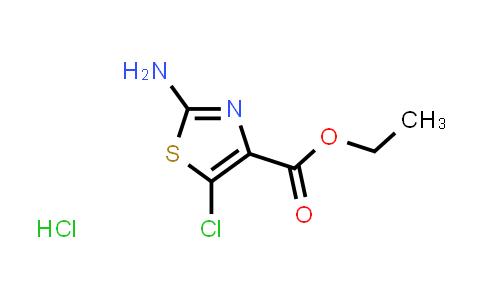ethyl 2-amino-5-chloro-1,3-thiazole-4-carboxylate hydrochloride