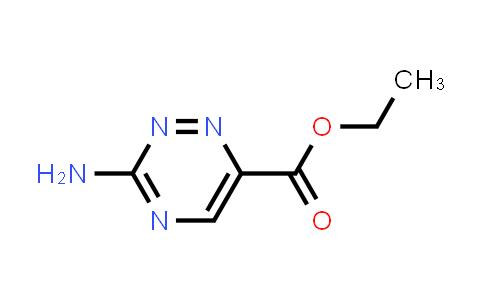 ethyl 3-amino-1,2,4-triazine-6-carboxylate