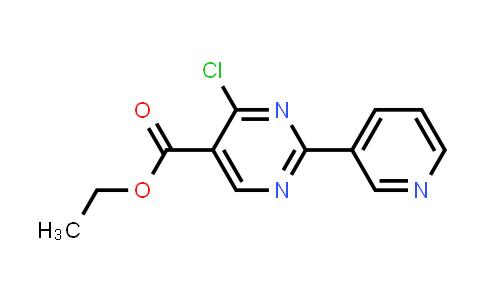 ethyl 4-chloro-2-pyridin-3-ylpyrimidine-5-carboxylate