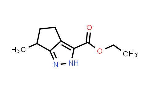 ethyl 6-methyl-2H,4H,5H,6H-cyclopenta[c]pyrazole-3-carboxylate
