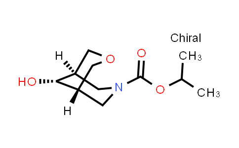 isopropyl 9-anti-hydroxy-3-oxa-7-azabicyclo[3.3.1]nonane-7-carboxylate