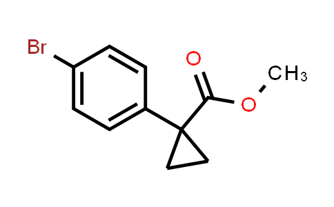 Methyl 1-(4-bromophenyl)cyclopropanecarboxylate