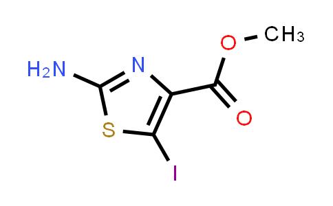 methyl 2-amino-5-iodo-1,3-thiazole-4-carboxylate