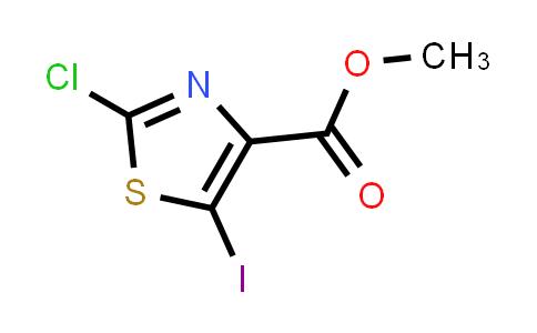 methyl 2-chloro--5-iodothiazole-4-carboxylate