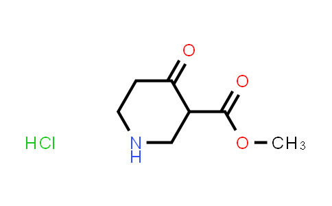 METHYL 4-OXO-3-PIPERIDINECARBOXYLATE HYDROCHLORIDE