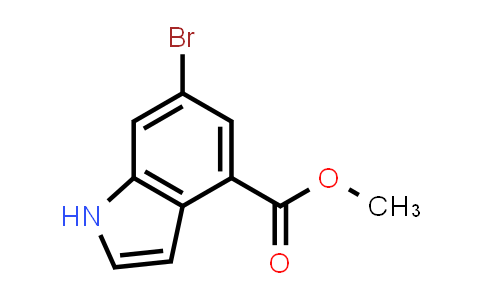 Methyl 6-Bromoindole-4-carboxylate