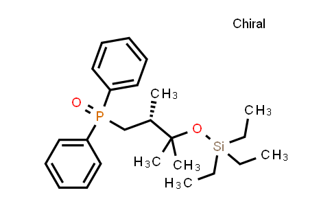 Phosphine oxide, [(2R)-2,3-diMethyl-3-[(triethylsilyl)oxy]butyl]diphenyl-