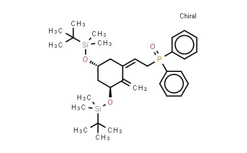 Phosphine oxide,[(2Z)-2-[(3S,5R)-3,5-bis[[(1,1-dimethylethyl)dimethylsilyl]oxy]-2-methylenecyclohexylidene]ethyl]diphenyl-; Phosphineoxide, [2-[3,5-bis[[(1,1-dimethylethyl)dimethylsilyl]oxy]-2-methylenecyclohexylidene]ethyl]diphenyl-,[3S-(1Z,3a,5b)]-