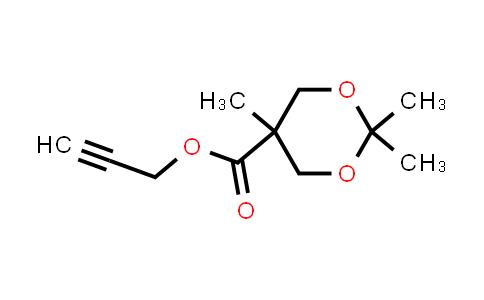 prop-2-yn-1-yl 2,2,5-trimethyl-1,3-dioxane-5-carboxylate