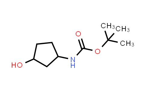 tert-butyl (3-hydroxycyclopentyl)carbamate
