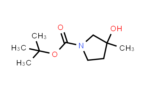 tert-Butyl 3-hydroxy-3-Methylpyrrolidine-1-carboxylate