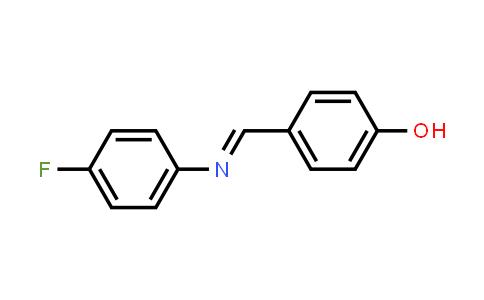 4-[[(4-Fluorophenyl)imino]methyl]-phenol