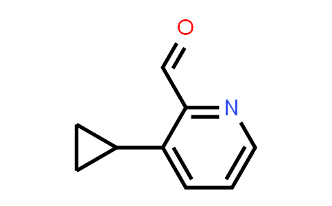 3-cyclopropylpicolinaldehyde