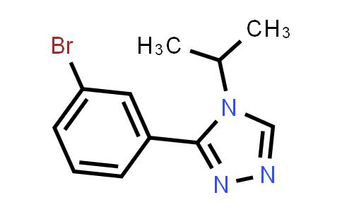 3-(3-bromophenyl)-4-isopropyl-4H-1,2,4-triazole