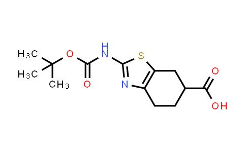2-((tert-butoxycarbonyl)amino)-4,5,6,7-tetrahydrobenzo[d]thiazole-6-carboxylic acid
