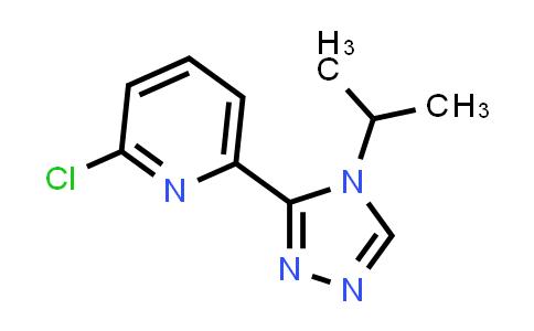 2-chloro-6-(4-isopropyl-4H-1,2,4-triazol-3-yl)pyridine