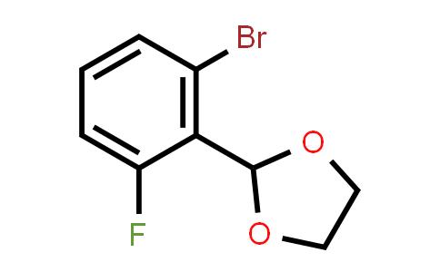 2-(2-bromo-6-fluorophenyl)-1,3-dioxolane