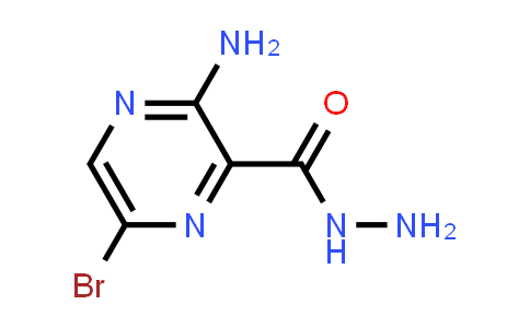 3-aMino-6-broMopyrazine-2-carbohydrazide