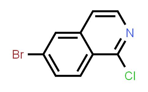 6-Bromo-1-chloroisoquinoline