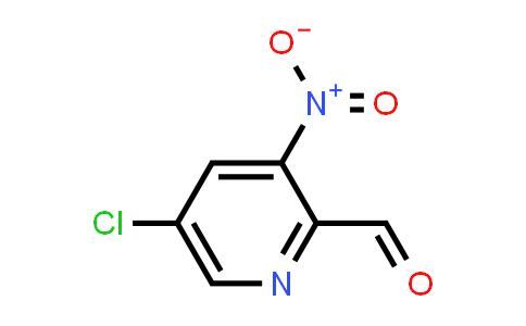 5-Chloro-3-nitropyridine-2-carboxaldehyde