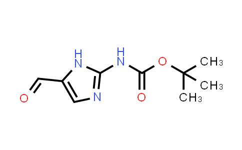 tert-butyl 5-forMyl-1H-iMidazol-2-ylcarbaMate