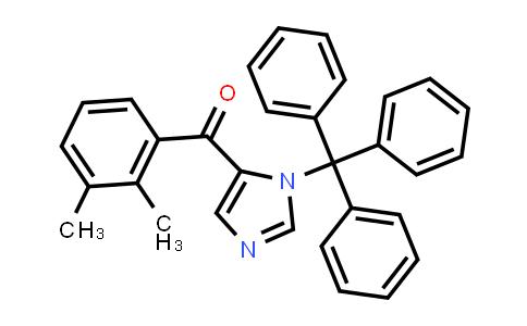 (2,3-dimethylphenyl)-(3-tritylimidazol-4-yl)methanone